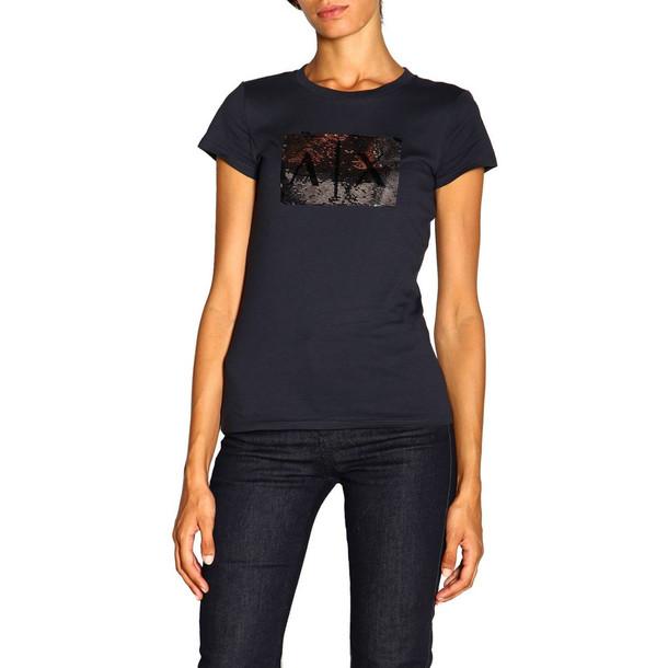 Armani Collezioni Armani Exchange T-shirt T-shirt Women Armani Exchange in blue