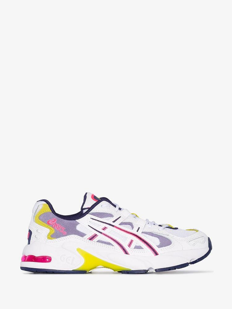 Asics Gel Kayano 5 sneakers in purple / white