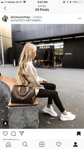 shoes,louis vuitton,white sneakers,tan,black,sneakers,white