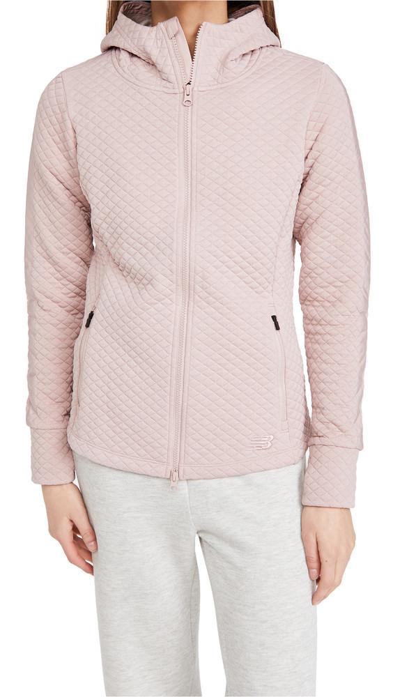 New Balance NB Heatloft Jacket in pink