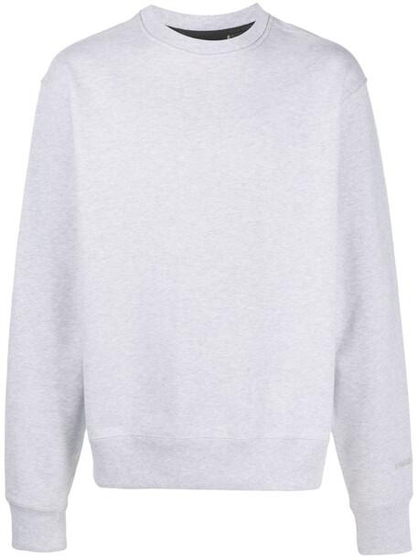adidas by Pharrell Williams cotton sweatshirt in grey