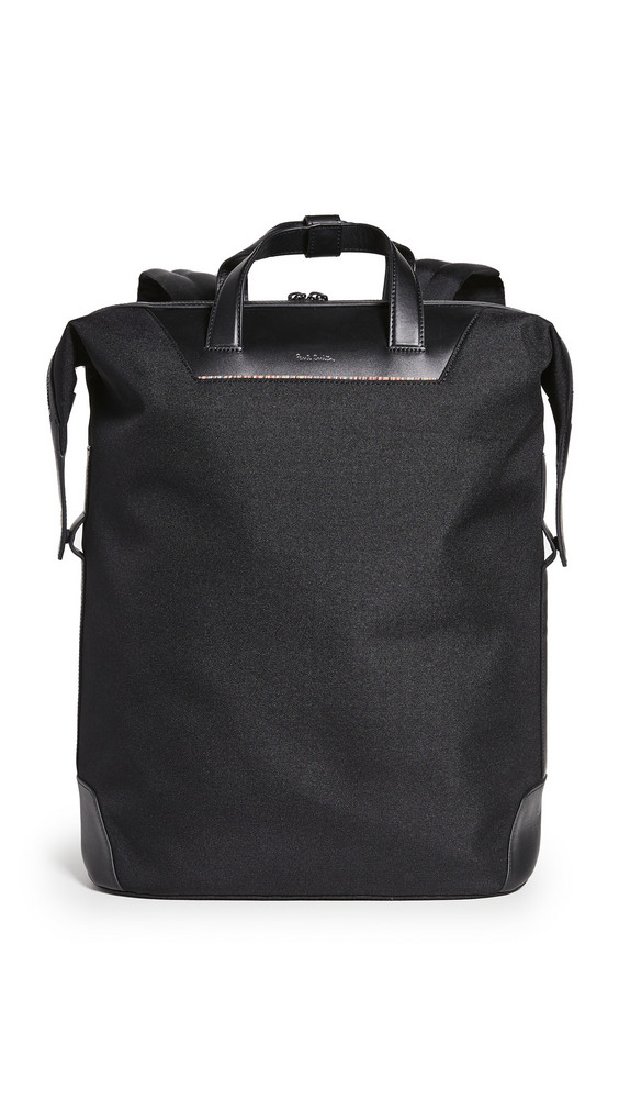 Paul Smith Travel Backpack in black