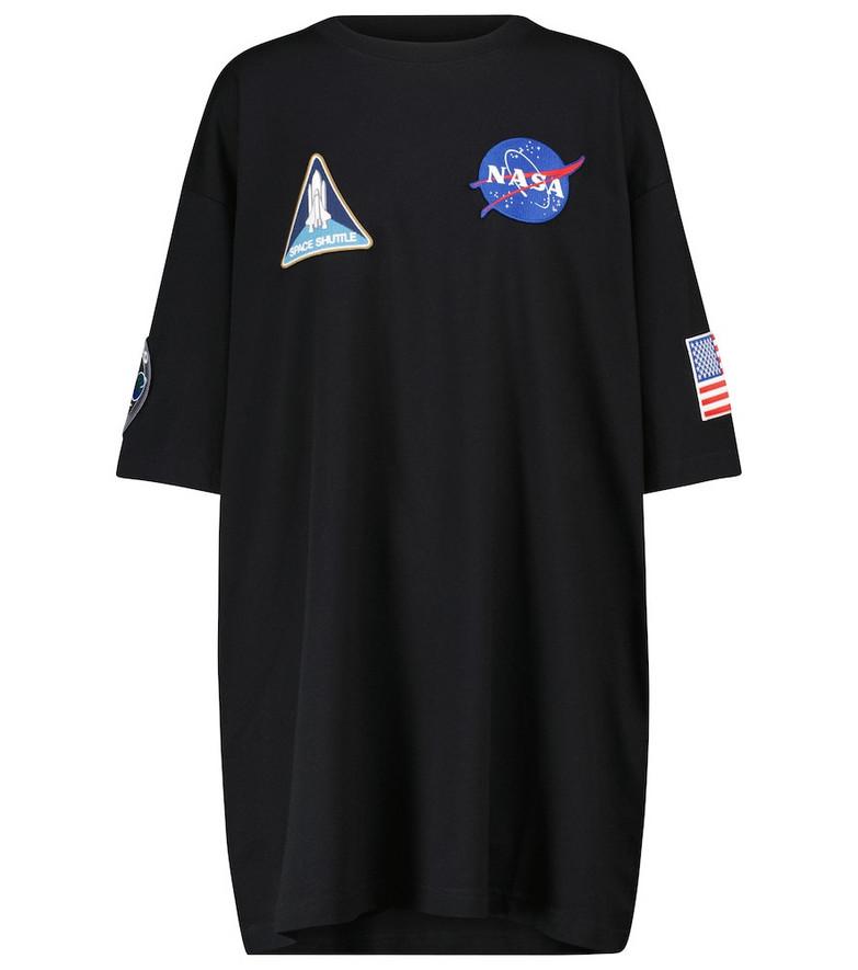 Balenciaga x Nasa space print cotton jersey T-shirt