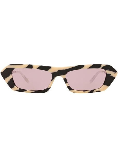 Gucci Eyewear GG0642S rectangle-frame sunglasses in purple