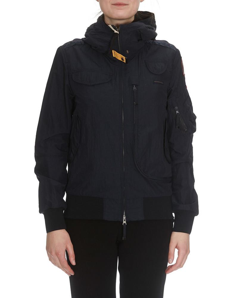 Parajumpers Gobi Spring Jacket in black / blue