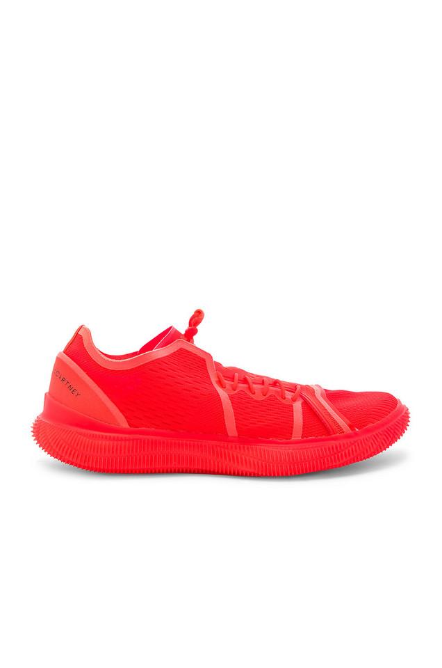 adidas by Stella McCartney PureBOOST TRAINER in red