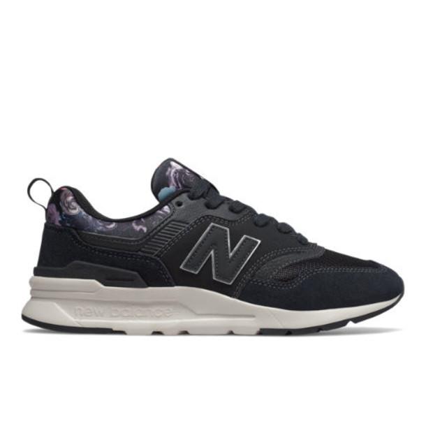 New Balance 997H Women's US Site Exclusions Shoes - Black/Purple (CW997HXG)