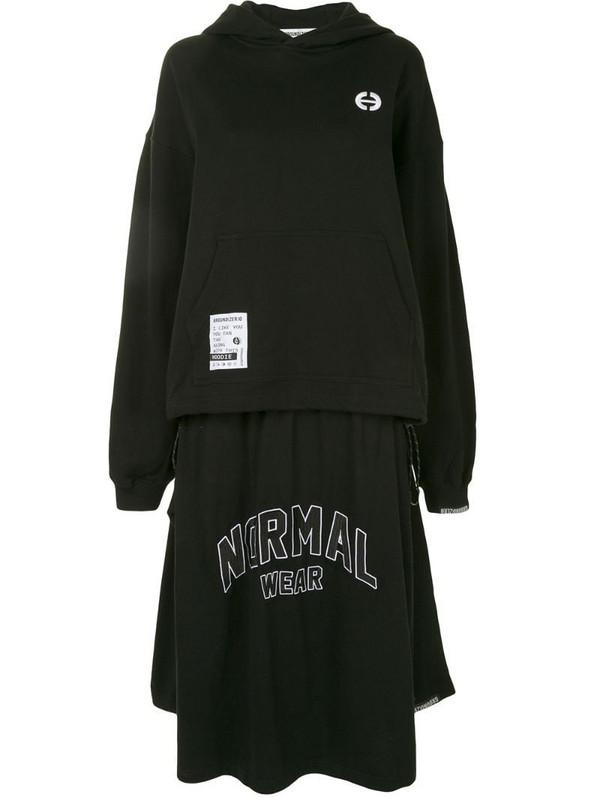 Ground Zero Normal Wear dress in black