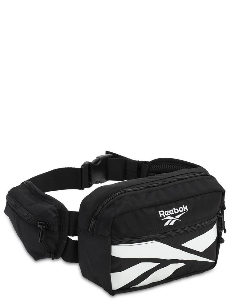 REEBOK CLASSICS Cl Repeat Vector Belt Bag in black