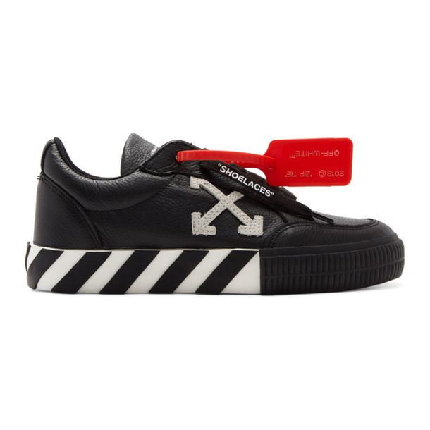Off-White Black Arrow Vulcanized Low Sneakers