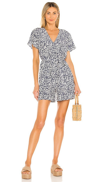 Rails Sophia Romper in Blue in navy
