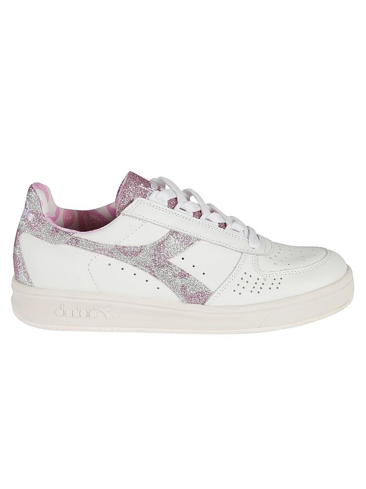 Diadora Heritage B.elite Paisley Sneakers in pink / white