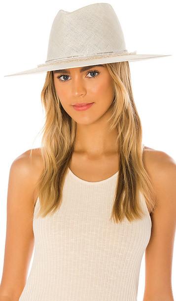 Eugenia Kim Harlowe Hat in Ivory