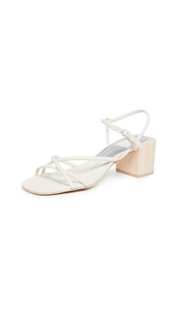 Dolce Vita Zayla Block Heel Sandals in ivory