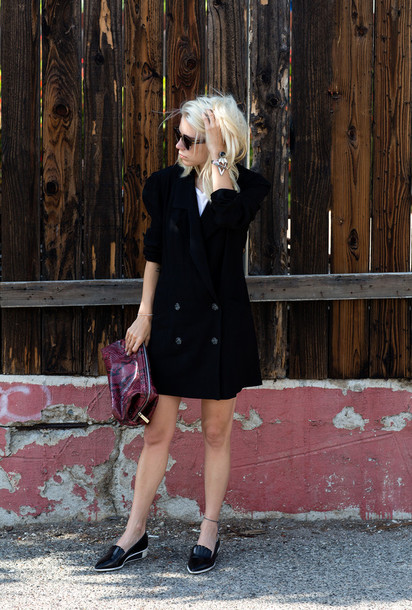 always judging jacket dress shoes sunglasses jewels bag