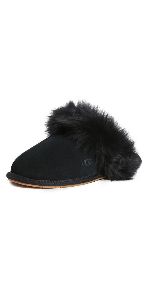 UGG W Scuff Slippers in black