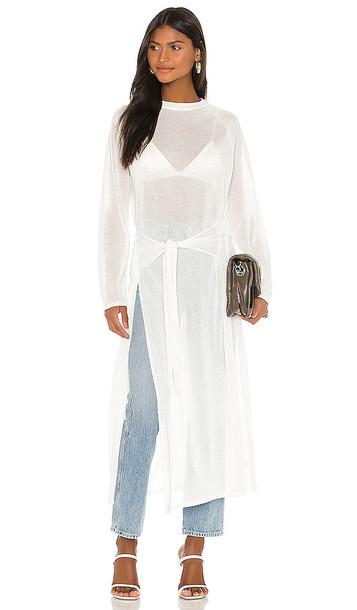 GRLFRND Buttercup Sweater in White