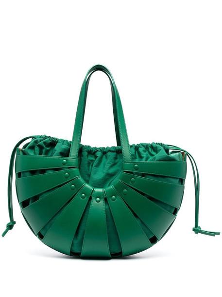 Bottega Veneta The Shell shoulder bag in green
