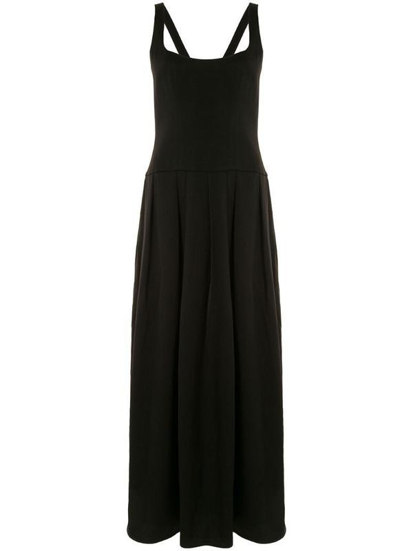 Anna Quan flared knit dress in black