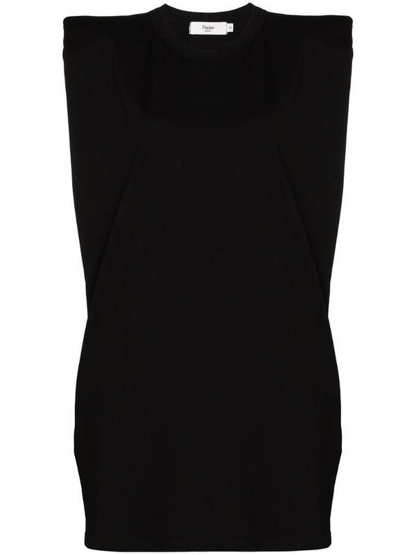 Frankie Shop Tina T-shirt dress in black