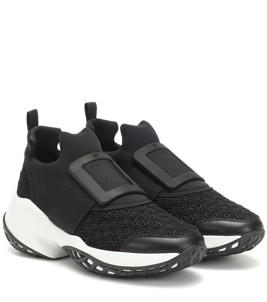 Roger Vivier Viv' Run sneakers in black