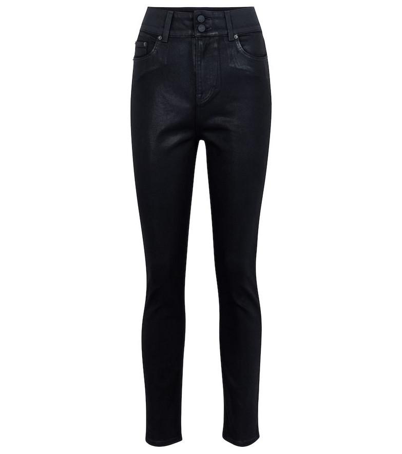 Grlfrnd Oriana high-rise slim jeans in black