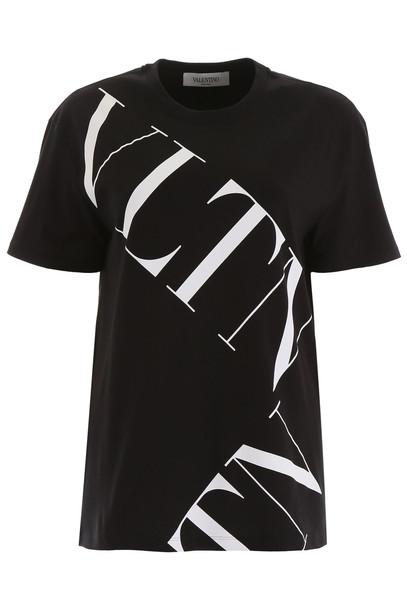 Valentino Vltn T-shirt in black / bianco