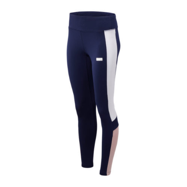 New Balance 93505 Women's NB Athletics Classic Legging - Navy/White/Purple (WP93505PGM)