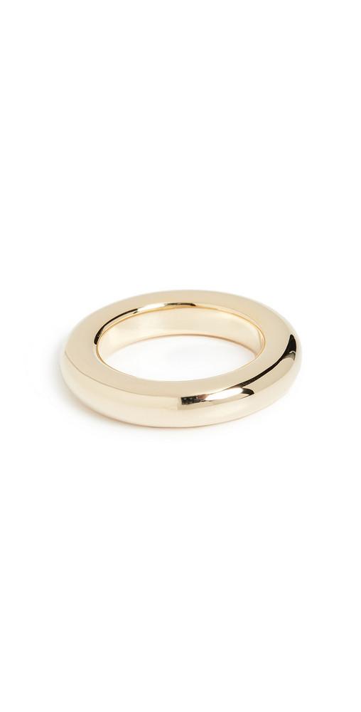 Luv Aj Amalfi Tube Ring in gold
