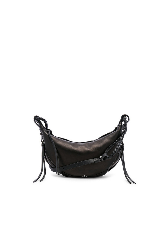 Jerome Dreyfuss Willy Small Shoulder Bag in black