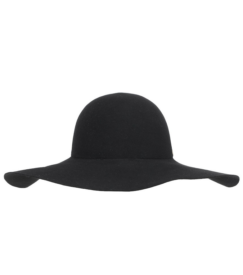 Valentino Garavani VLOGO felt hat in black