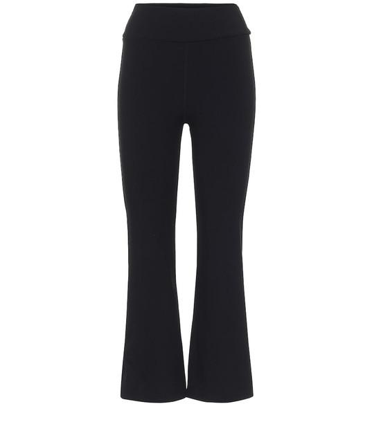 The Upside Zen high-rise cropped leggings in black