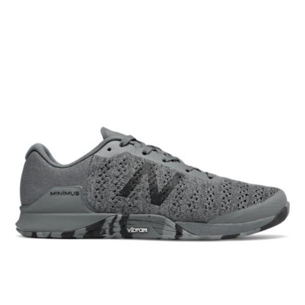 New Balance Minimus Prevail Men's Cross-Training Shoes - Grey/Black (MXMPCG1)