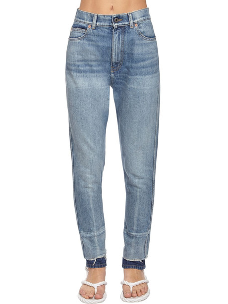 VALENTINO Back Go Logo Slim Fit Denim Jeans