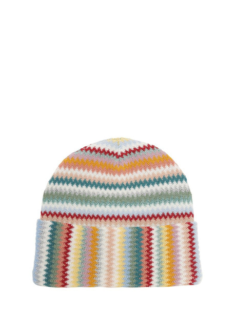 MISSONI Lurex Multi-color Beanie