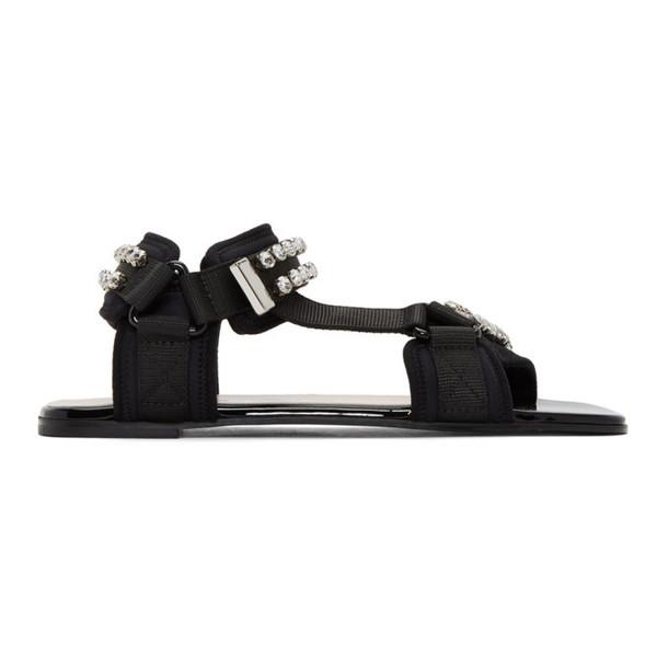 Gucci Black Shea Sport Sandals