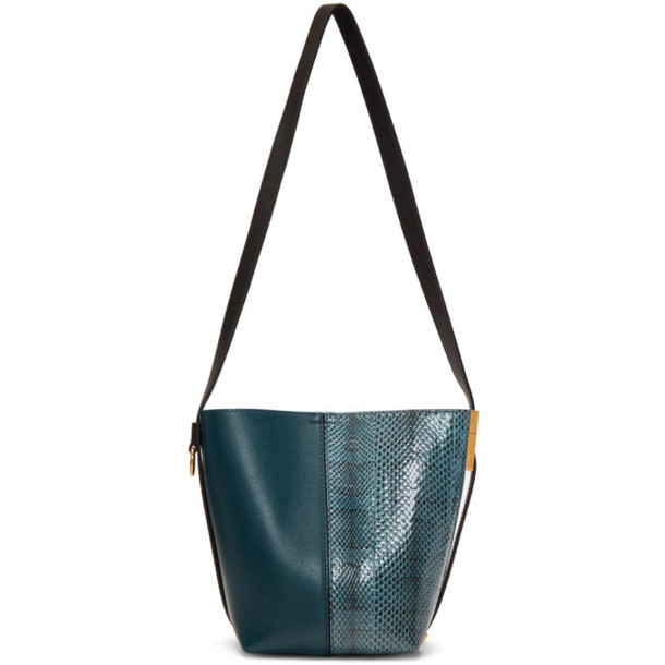 Givenchy Navy & Blue Mini GV Bucket Bag