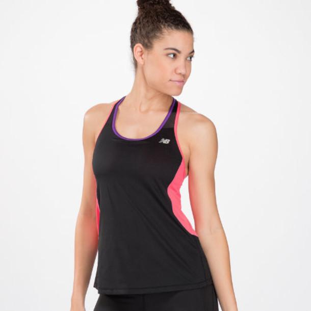 New Balance 4131 Women's Tonic top - Black, Watermelon (SB4131BWM)