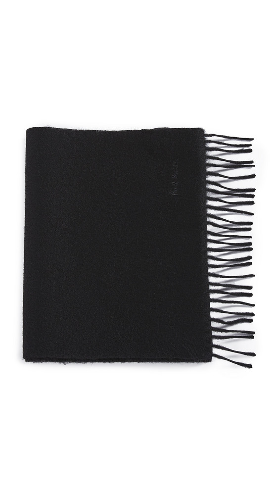 Paul Smith Cashmere Scarf in black