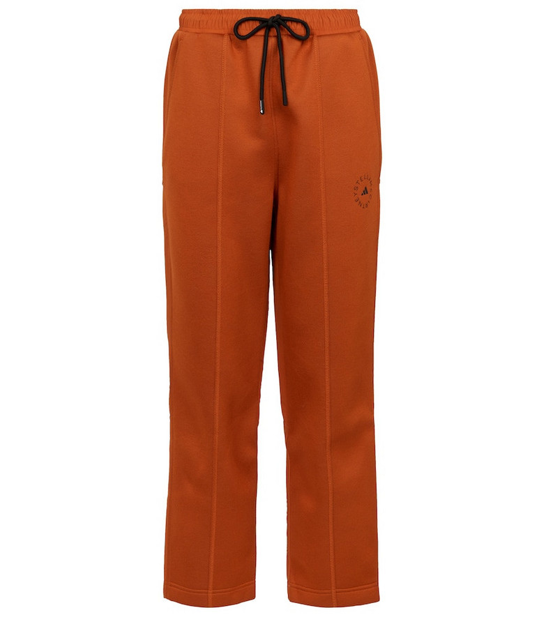 adidas by STELLA McCARTNEY ASMC TL sweatpants in orange