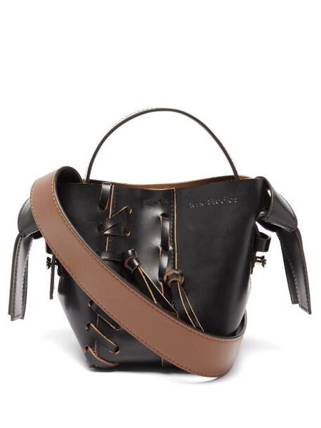 Acne Studios - Musubi Micro Leather Cross-body Bag - Womens - Black