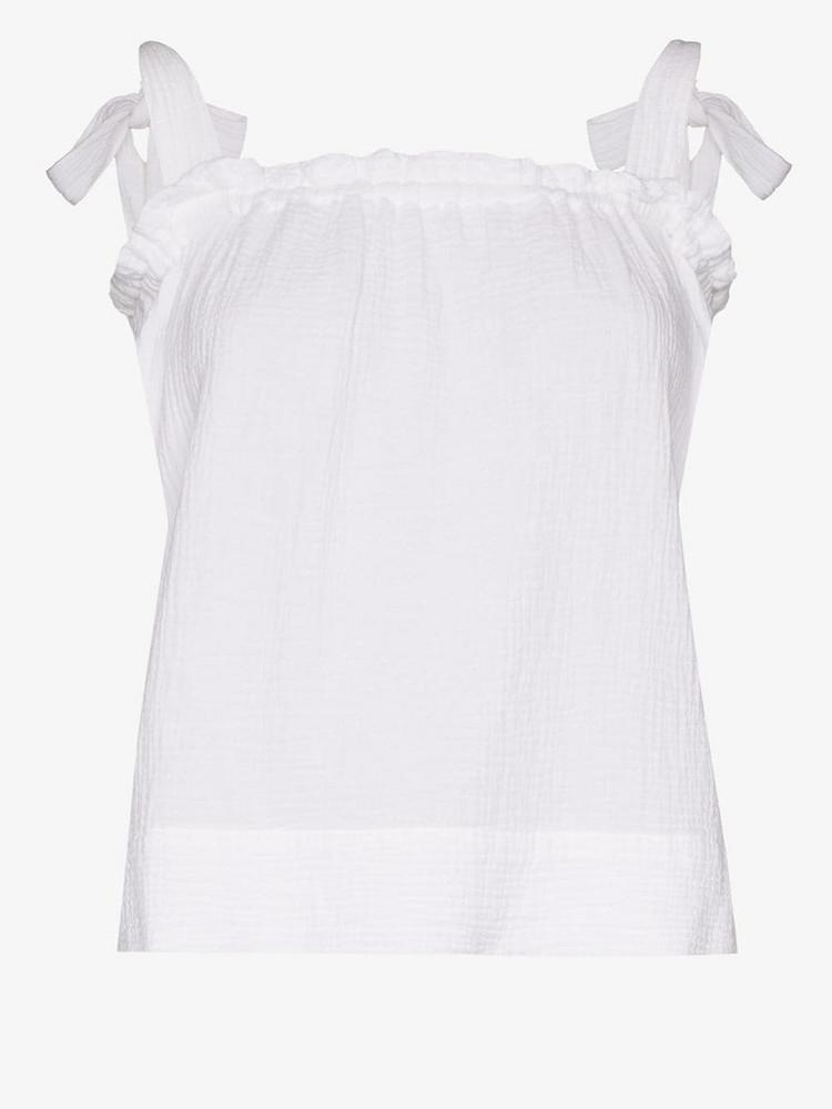 Honorine Goldie tank top in white