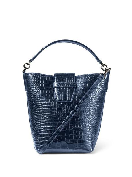 Jimmy Choo Madeline bucket bag in blue