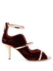 metallic,pumps,velvet,burgundy,shoes