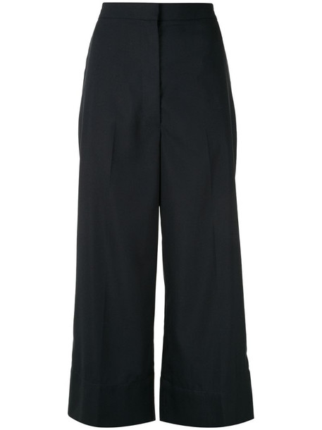 3.1 Phillip Lim high-waist cropped trousers in blue