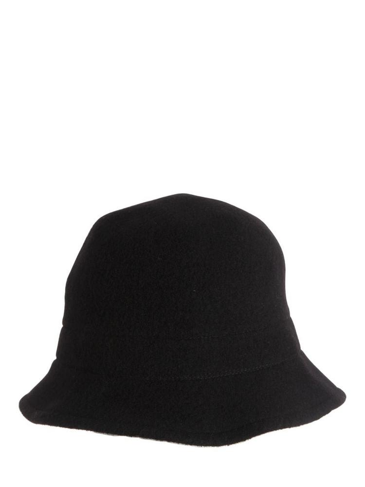 SCHA Soft Traveler Wool Hat in black