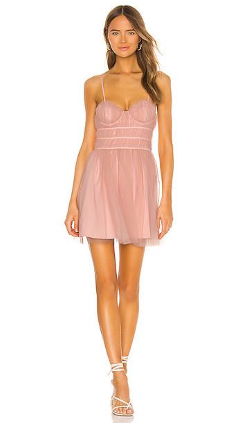 MAJORELLE Mia Dress in Blush