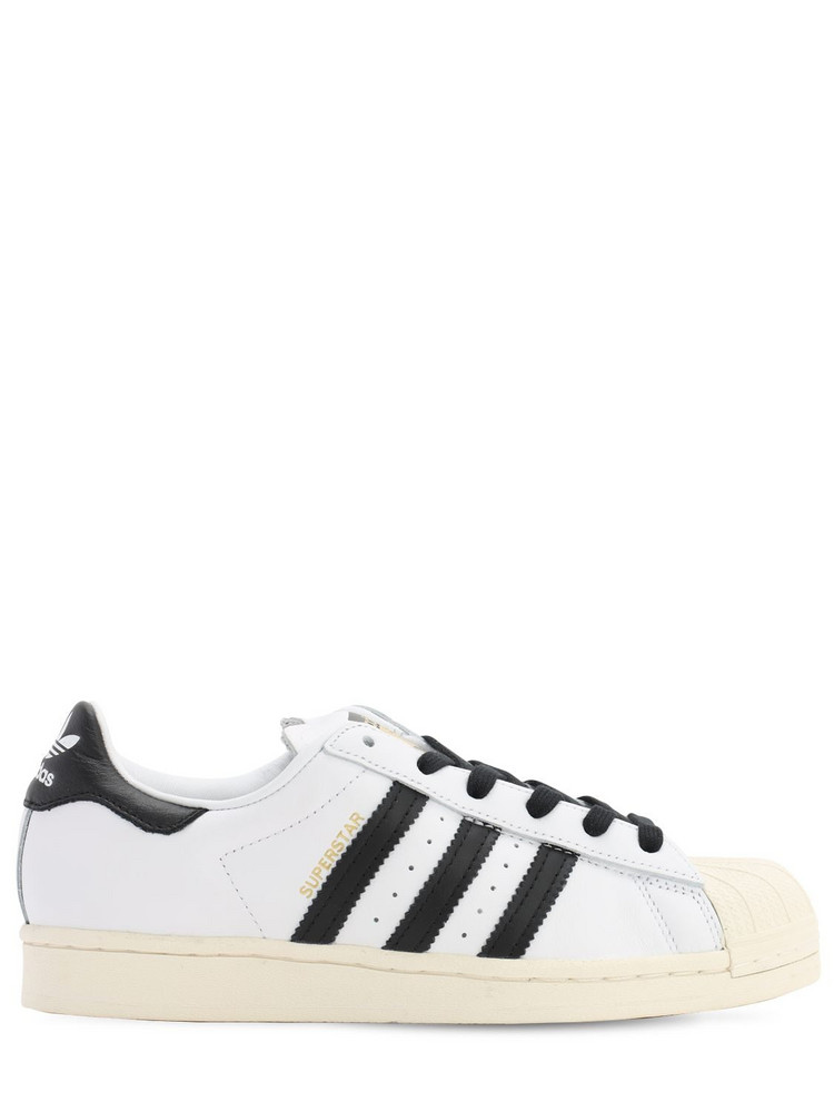ADIDAS ORIGINALS Superstar Laceless Courtside Sneakers in black / white