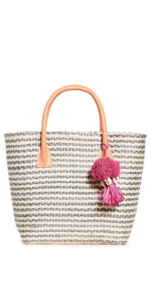 Hat Attack Small Tuscan Tote in grey
