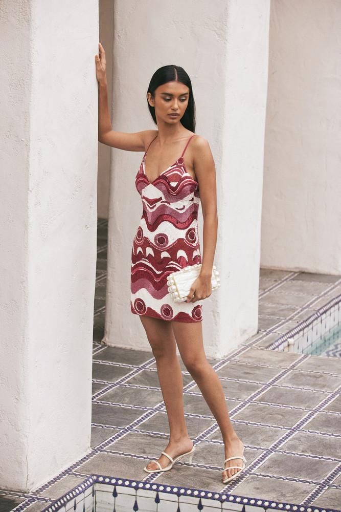 Cult Gaia Sasha Dress - Wave Multi                                                                                               $1,298.00